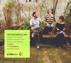 IDEAME - financiamiento de ARTE EN AM�RICA HOY