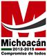Gobierno del Estado de Michoacán, México