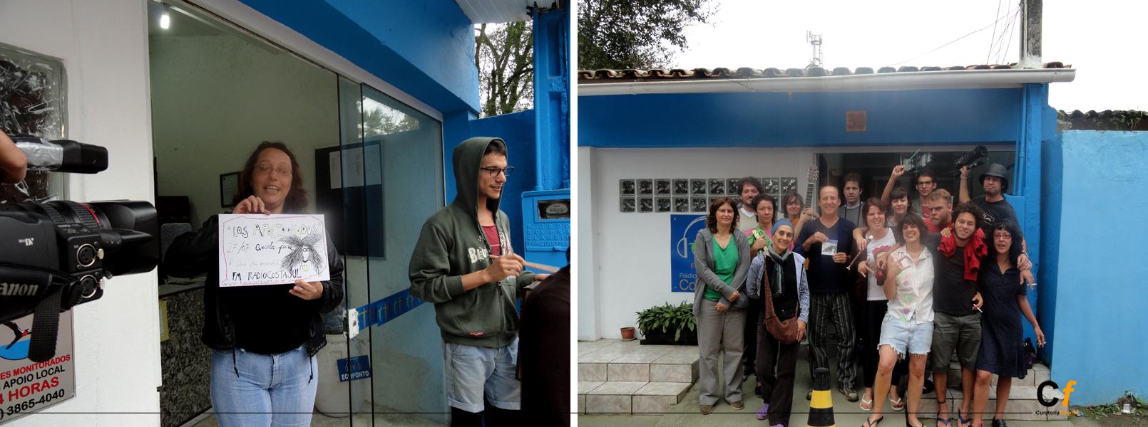 LOS APOLTRONADOS en FM Costa Azul