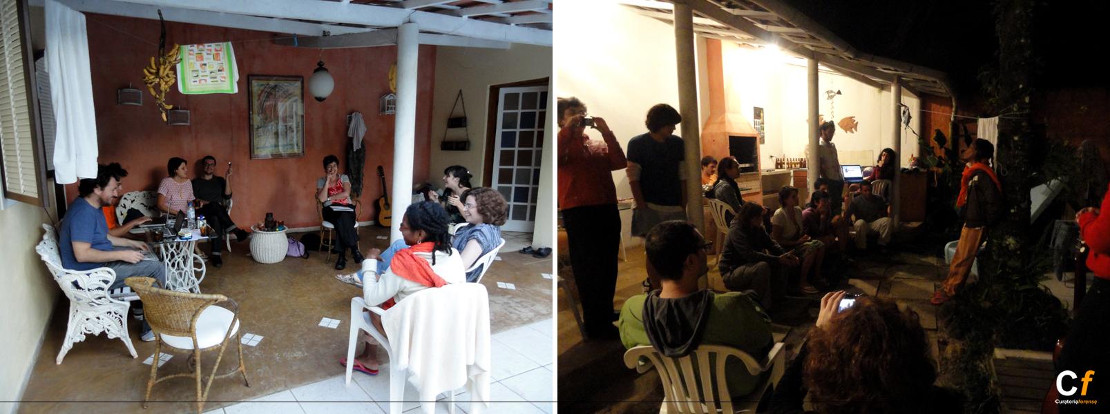 Visita de Ana Tomé, Soleida Ríos y Marcio Harum