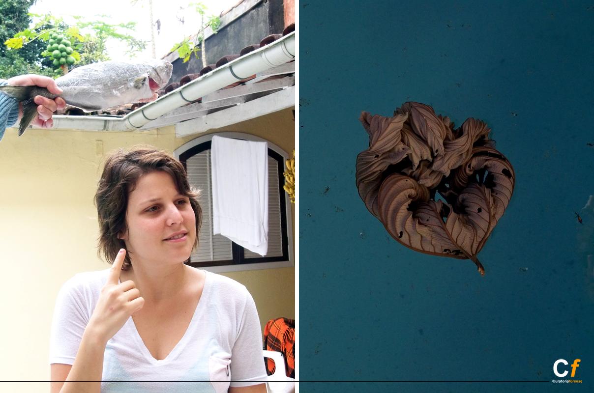 Paula Borghi pensando en pescado