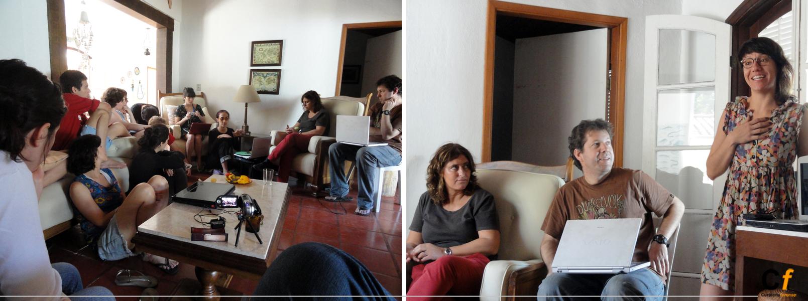 presentación de portafolios de los participantes de la residencia